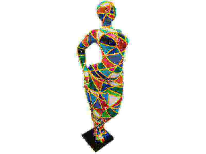 Deko Skulptur Martha abstrakt