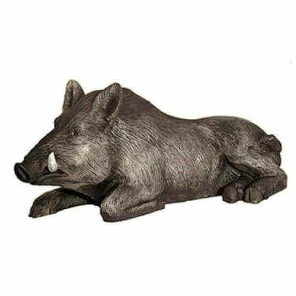 Wildschwein Eber liegend