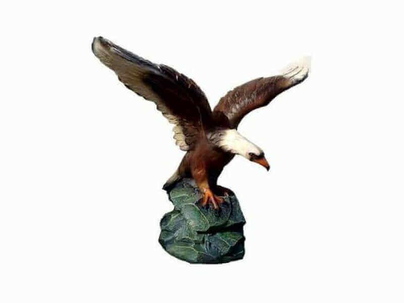 Adler auf Stein Deko