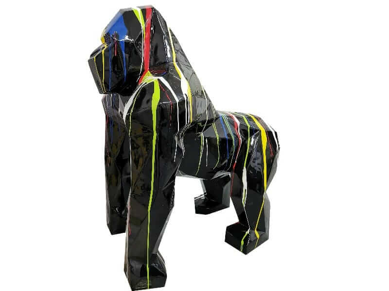 Designer Deko Gorilla in Origami Art kreativ