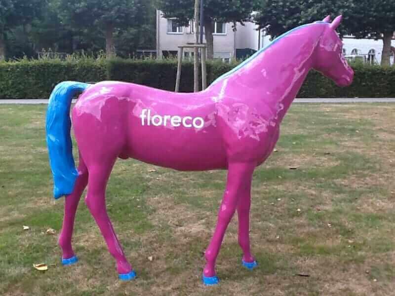 Deko Pferd floreco