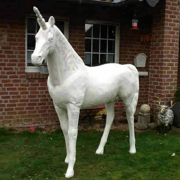 Einhorn Rohling Deko Pferd
