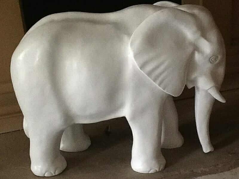 Elefant Rohling