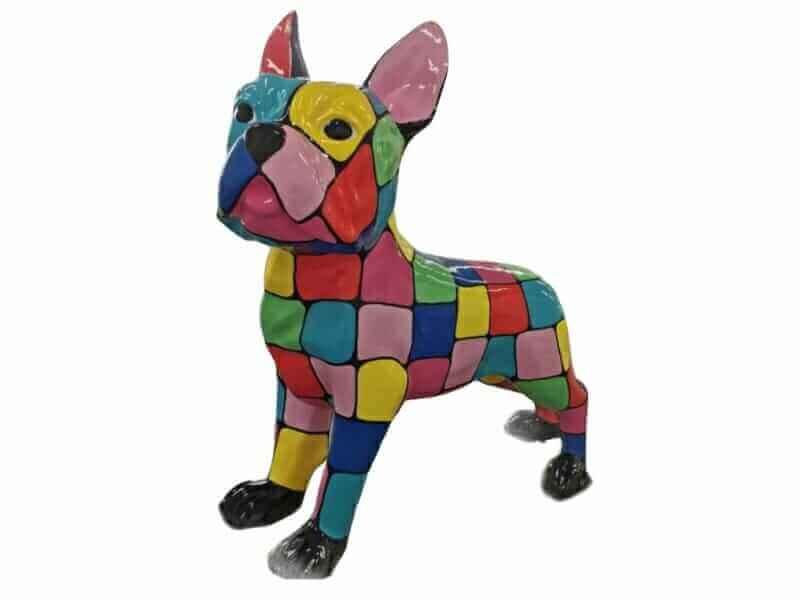 Riesige Deko Bulldogge
