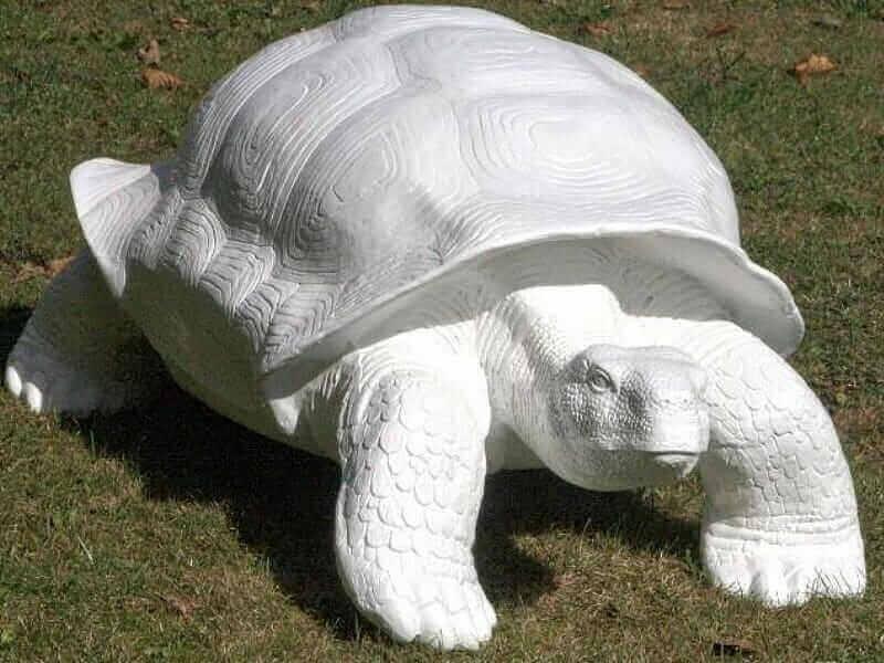 Riesige Deko Schildkröten als Rohlingeemalen