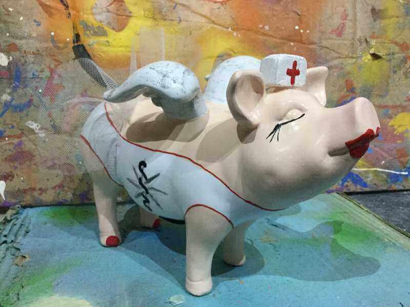 Ein Sparschwein für die Arzt-Praxis