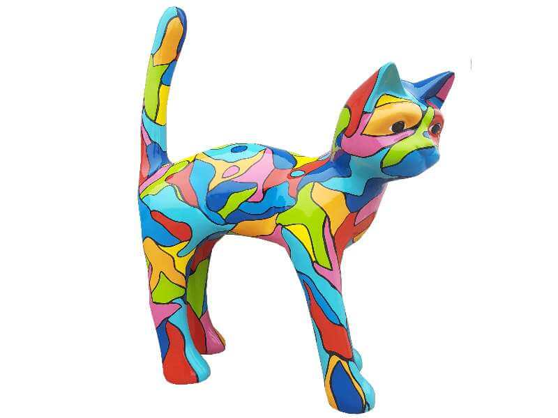 Deko Kunst Katze Puzzle Design