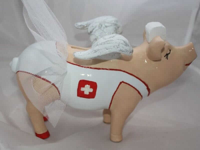 Sparschwein Tresen Arzt