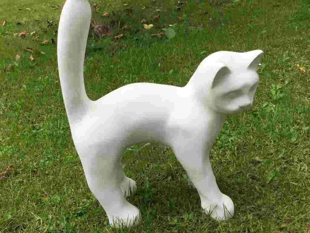 Katzen Deko Rohling zum Bemalen